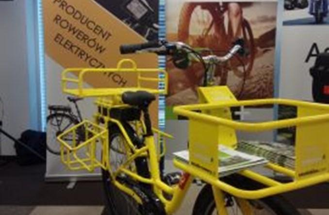 Poczta Polska testuje rowery transportowe i melexy
