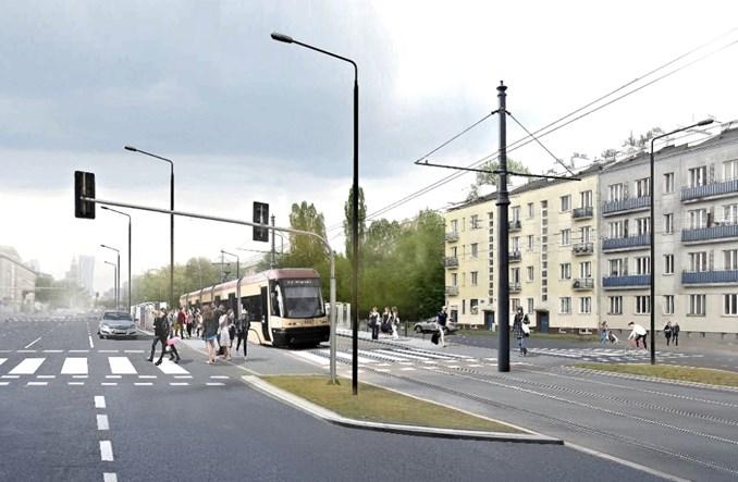 Tramwaje Warszawskie podpisały umowę na projekt tramwaju na Kasprzaka