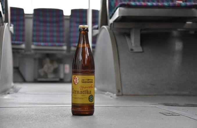 Pierwsze trolejbusowe piwo na świecie