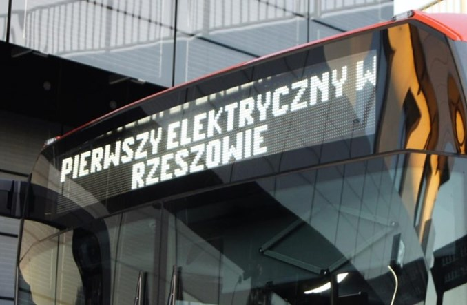Rzeszów: Pierwsze elektryki już są, ale nie ma ładowarek