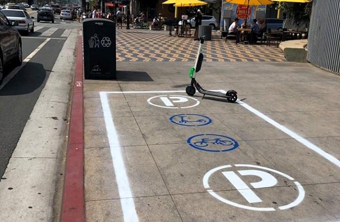 USA. Santa Monica buduje parkingi dla… hulajnóg