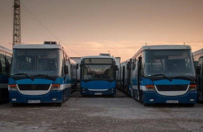 MPK Kraków w 1,5 godziny sprzedało 57 autobusów