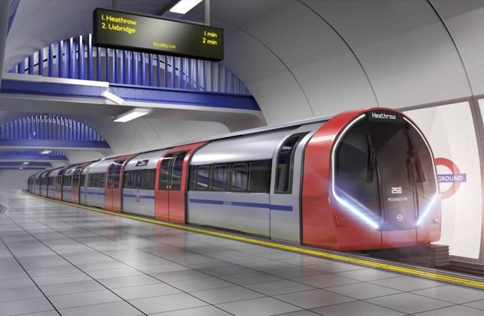 Londyn. Siemens Mobility dostarczy 94 pociągi Inspiro za 1,5 mld funtów
