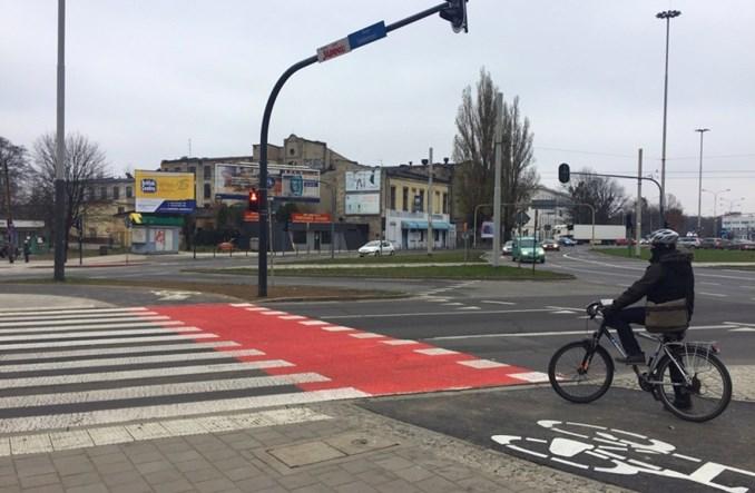 Łódź: DDR wokół Ronda Solidarności oddane do użytku