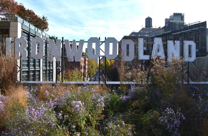 Nowojorski park The High Line ma już prawie 10 lat