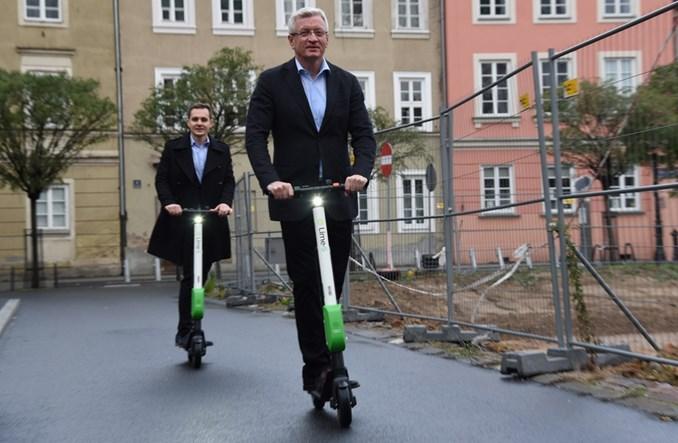 Elektryczne hulajnogi już w Poznaniu