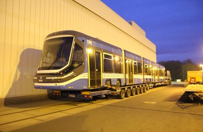 Chemnitz prezentuje pierwszy tramwaj Skoda ForCity (zdjęcia)