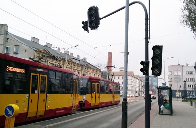 Łódź wyłącza sygnalizacje przy śluzach tramwajowych