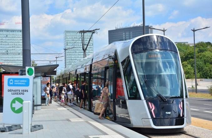 Tramwaje wróciły do Luksemburga we francuskim stylu