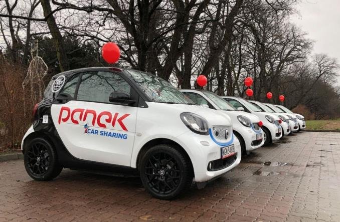 Car sharing elektryczny. Panek wprowadza smarty EQ