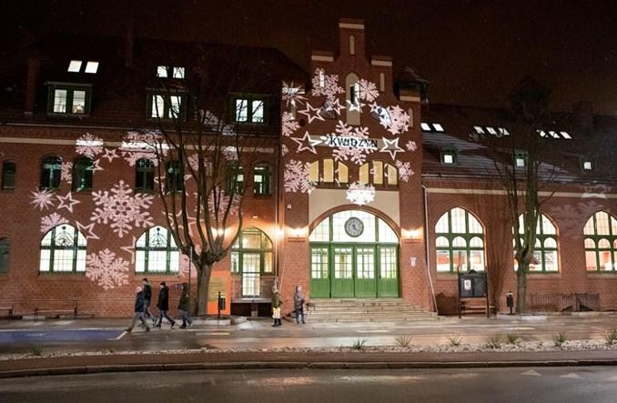 Dworzec w Kwidzynie po remoncie. Mieści bibliotekę, na powrót pociągów czekamy