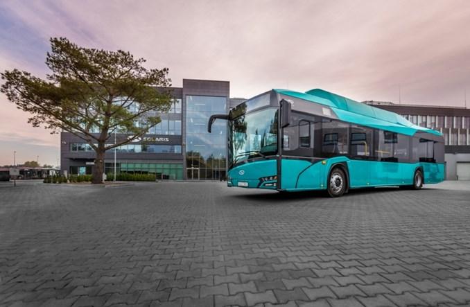 Frankfurt. Solaris dostarczył pięć elektrobusów