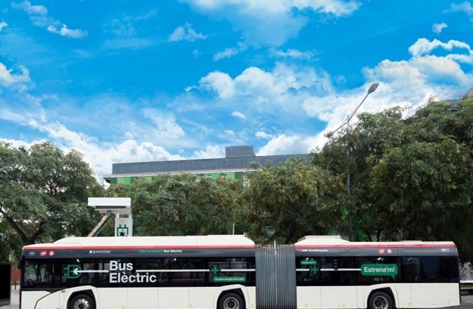 Barcelona. Solaris dostarczył trzy przegubowe elektrobusy