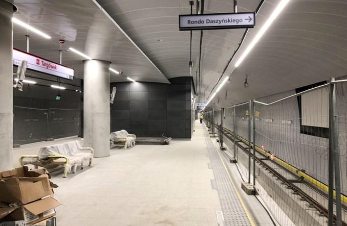 Metro na Targówek: Przygotowania do jazd testowych (zdjęcia)
