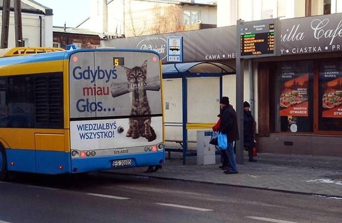 Skierniewice z wyświetlaczami dla nielicznych autobusów