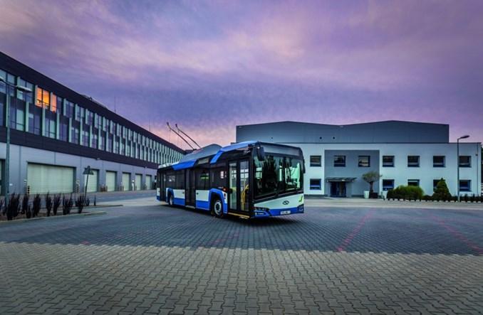 solaris i skoda dostarcz 22 trolejbusy do saint etienne transport publiczny. Black Bedroom Furniture Sets. Home Design Ideas