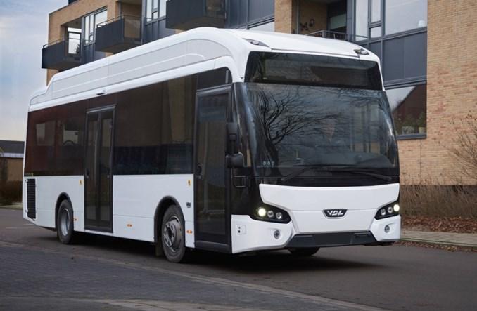 VDL wydłużył elektryczny autobus 9,9–metrowy do 11,5 m