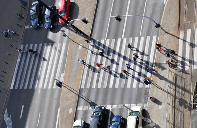 20 procent mniej ofiar na warszawskich drogach