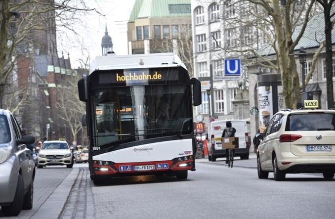 Solaris dostarczył pierwsze elektrobusy do Hamburga z nowego zamówienia