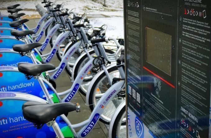 Rowery miejskie wracają 6 maja