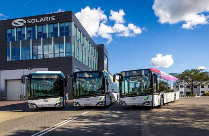 W 2018 r. Solaris sprzedał mniej autobusów. Pozostaje w czołówce rynku e-mobility