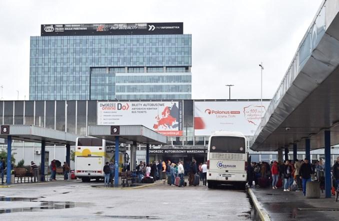 Dworzec autobusowy Warszawa Zachodnia z rekordowymi wynikami
