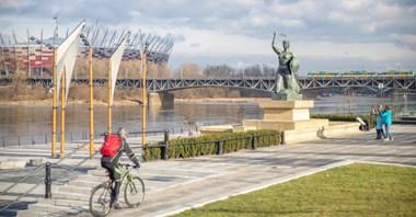 Warszawa: Bulwary przy pomniku Syreny otwarte