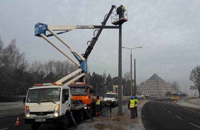 Tychy wraz z budową trasy trolejbusowej wymienią oświetlenie
