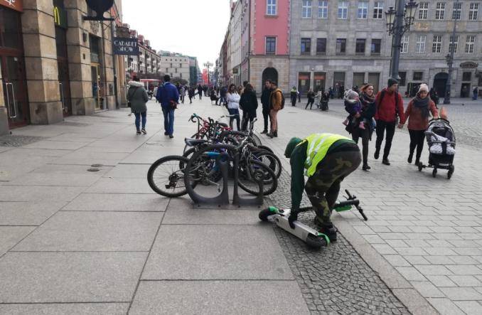 Lime uruchomił patrole hulajnogowe