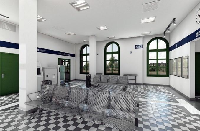 PKP SA z ofertami na przebudowę dworca Złotniki Kujawskie