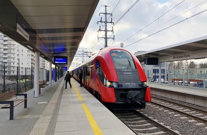 Pociągi SKM Warszawa z linii radomskiej na obwodową. Jedynie czasowo