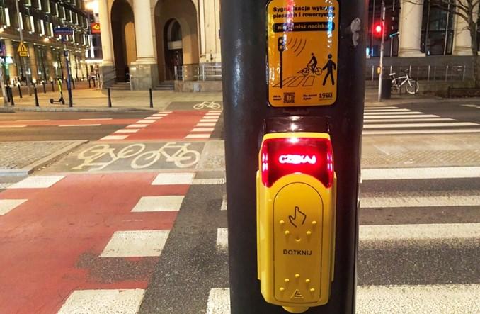Warszawa: Oprócz przycisków automatyczna detekcja pieszych