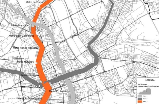 Multiconsult proponuje: III linia metra z Białołęki na Wilanów. Wyniki obiecujące