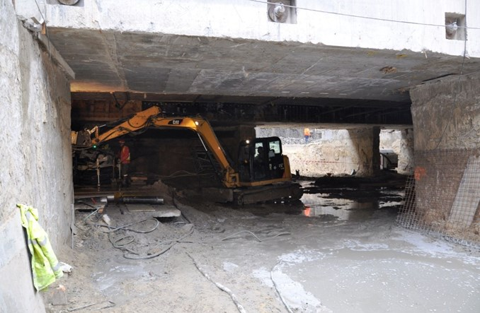 Tunel stał się wiaduktem. Drogowcy przekopali się pod metrem