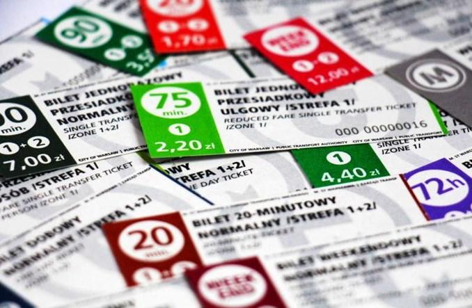 Warszawa zmienia wzór biletów komunikacji miejskiej. W sprzedaży od 8 kwietnia