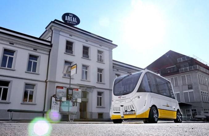 Neuhausen. Autonomiczny autobus ma już rok