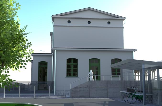 Dworzec w Malczycach do przebudowy. Jest umowa (wizualizacje)