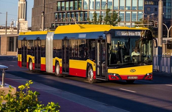 Warszawa. Będzie więcej autobusów zasilanych gazem. Kolejna umowa z Arrivą