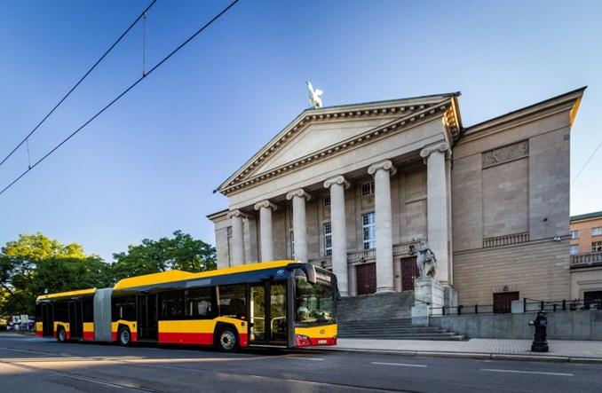 Warszawa. Jak będą wyglądać pierwsze solarisy CNG dla stolicy