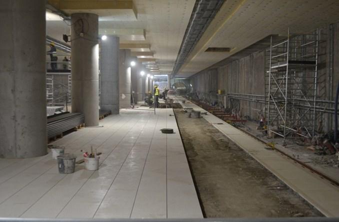 Metro na Wolę: Trwają prace wykończeniowe