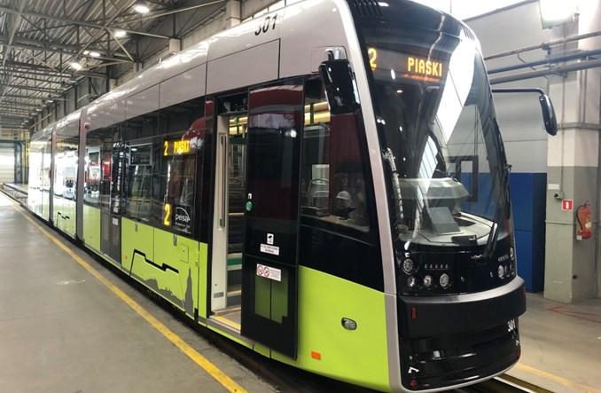 Pierwszy tramwaj Pesy dla Gorzowa gotowy do transportu