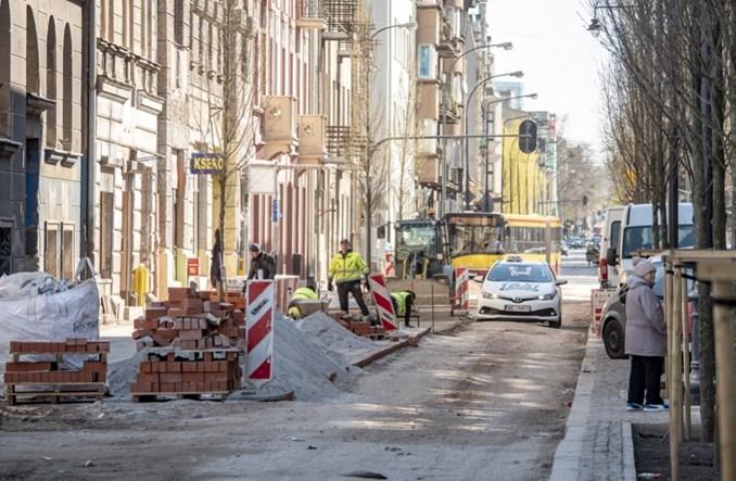Rewitalizacja Łodzi: Większość ulic opóźniona