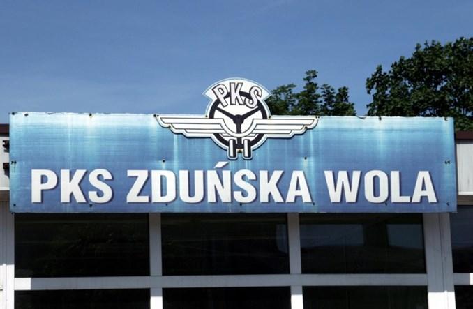 PKS Zduńska Wola zawiesza szereg połączeń regionalnych