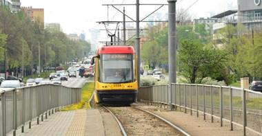 Warszawa: Roboty tramwajowe w Grochowskiej i al. Krakowskiej