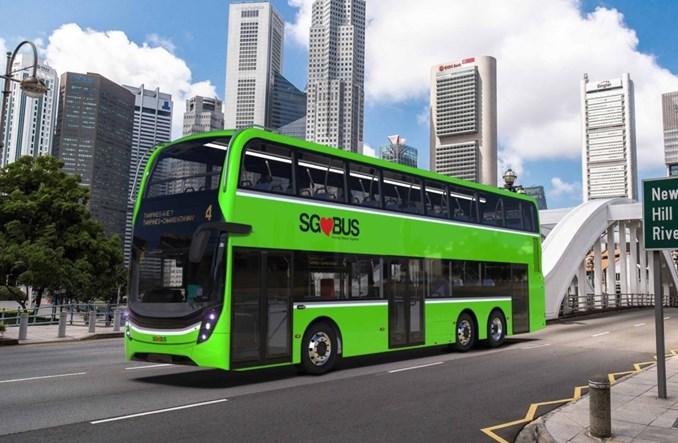 Singapur. Alexander Dennis dostarczy 50 nowych piętrusów