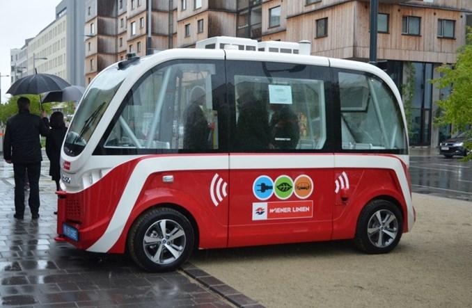 Wiedeń: Autonomiczny autobus w dzielnicy przyszłości [zdjęcia]