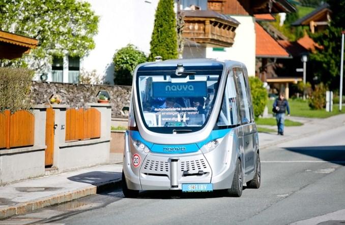 Navya: Rośnie popyt na autonomiczne busy
