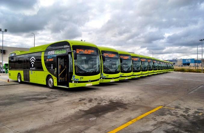 Badajoz kupuje 15 autobusów elektrycznych od BYD-a