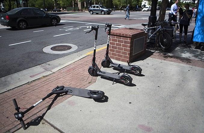 W USA jest już 85 tys. e-hulajnóg. Wypierają bezstacyjne rowery