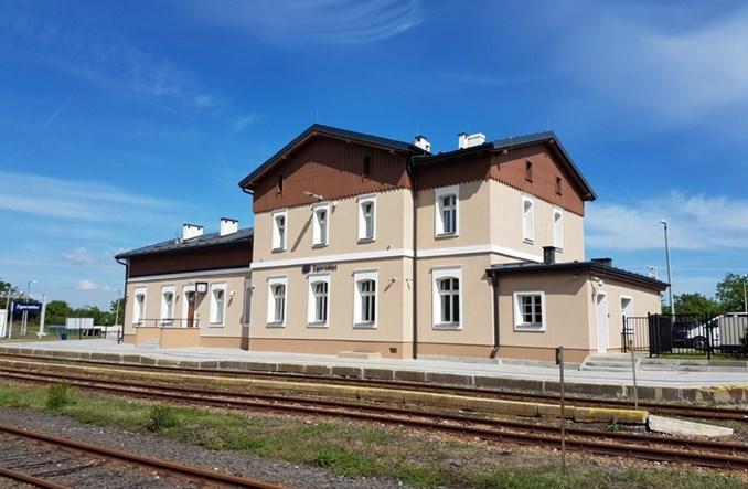 Dworzec kolejowy w Zgorzelcu po modernizacji